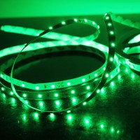 5M 60Led/m 3528 300leds Non-Waterproof SMD LED Strips Bar Lights Flexible LED Strip-Green