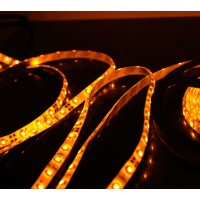 5M 60Led/m 3528 300leds Waterproof SMD LED Strips Bar Lights Flexible LED Strip-Yellow
