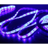 5M 60Led/m 3528 300leds Waterproof SMD LED Strips Bar Lights Flexible LED Strip-Blue