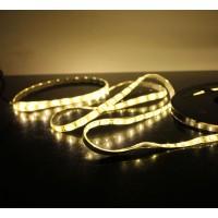 5M 60Led/m 3528 300leds Waterproof SMD LED Strips Bar Lights Flexible LED Strip-Warm White