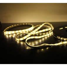 5M 60Led/m 3528 300leds Waterproof SMD LED Strips Bar Lights Flexible LED Strip-Warm White