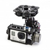 Wind-I Brushless Gimbal Complete KIT Two Axis Carbon Fiber Aerial Photography Camera PTZ for Gopro 1/2/3