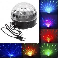 Sound Control Disco DJ Stage Lighting Digital LED RGB Crystal Ball Effect Light