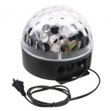 Mini LED RGB Crystal Magic Ball Effect light DMX Disco DJ Stage Lighting Colorful Birthday Party