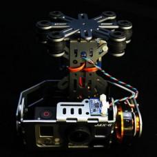 J&K Gopro FPV Brushless Drive Gimbal Finish Set for Aerial Photography (Aluminium Version)