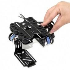 GoPro FPV Brushless Gimbal + Iflight Gimbal Motor 2-axis Glass Fiber Camera Gimbal PTZ Aerial Photography System