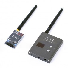 FPV 5.8G 600mW A/V Transmitting/Receiving System TS832 + TS832 32 Channel Wireless Audio/Video System