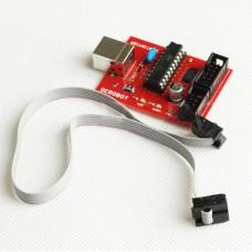 USBtinyISP Arduino Downloader OCROBOT with 6 pin Download Cable Bootloader