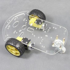 Smart Car Chassis Car Body Tracking Tracing Robot Car Transparent