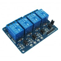 4-Channel 5V Relay Module for Arduino PIC ARM AVR DSP for PLC Control With Optocoupler