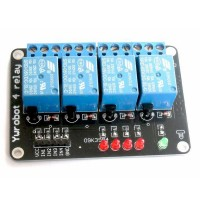 4-Channel 5V Relay Module For PIC ARM AVR DSP Arduino