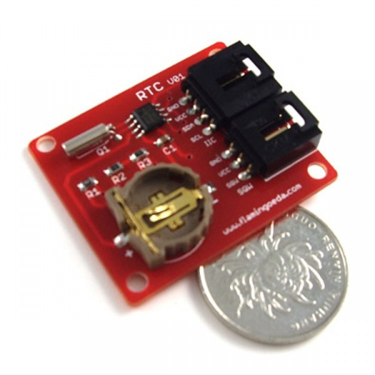 Arduino RTC DS1307 Shield Real-time Chip Module - Free