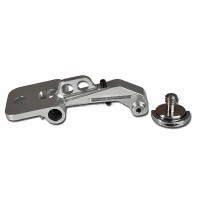 Gravity Adjustble FPV Monitor Mounting Bracket Set for Futaba Transmitter/Radio System Silver