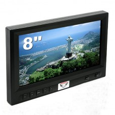 FPV-FEVER H8450TFT Color LCD Monitor 8-inch FPV Aerial Photography LCD Monitor for Ground Station