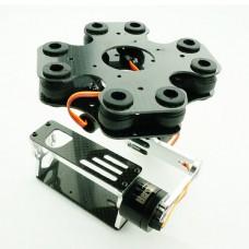 FPV GoPro Brushless Gimbal RTG+Brushless Gimbal/Motor Compelete Aerial Photography (Metal Version)