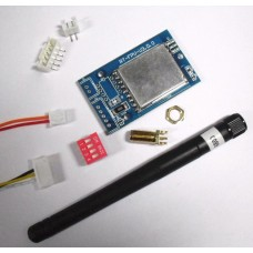 FPV 5.8G DIY Receiver Module Board for 5.8G Receiver and LCD Monitor Upgrade (with 2DB Antenna)