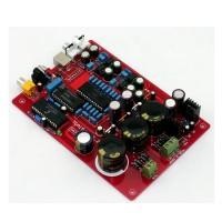 Fiber Coaxial Decoder Board TDA1541 USB Dual AC15-0-15V Dual 12V-0-12V with USB