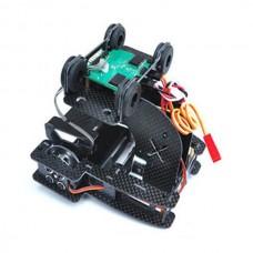 X-CAM X100B Brushless Gimbal Assembly +Motors Gimbal controller/sensor ARF FPV Gimbal for Gopro