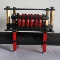 2mm 3k Carbon Fiber Anti-Vibration Board Damping Board for DSLR Brushless Gimbal