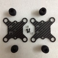 FC Carbon Fiber Shock Absortion Plate Rubber Balls for DJI Phantom Gimbal Aerial Photography
