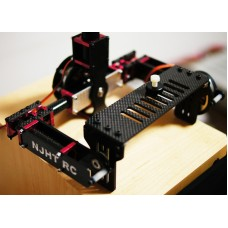 THOR ONE 2 axis FPV Brushless Camera Gimbal Kit 133mm Aerial Photography for Mini DLSR Camera