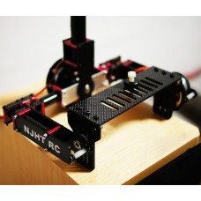 THOR ONE 3 axis FPV Brushless Camera Gimbal Assembled 133mm Aerial Photography for DLSR Camera