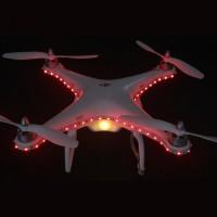 Upgrade Dual Color Variety Effeciency LED Light Night for DJI Phantom Quadcopter