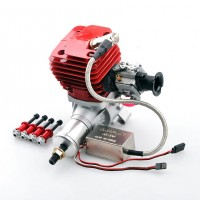 CRRC Pro GF50i 50cc Gas Engine/Petrol Engine for RC Airplane with Walbro Carburetor