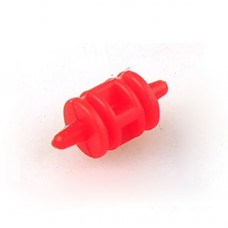 Drum-shaped High Effeciency Anti-vibration Rubber Ball Damper Ball for Camera Gimbal FPV Red 4pcs/lot