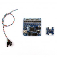 EvvGC 3-axis Pitch Roll Yaw MOS Open Source Brushless Gimbal Controller borad WDC-DC & Sensor