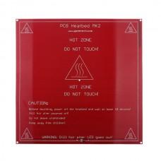 High Qulity MK2a Reprap 3D Printer Parts-Heated Bed PCB 1.6MM PCB Heatbed Reprap Mendel