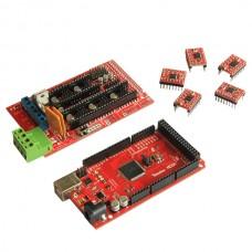 3D Printer Iduinomega2560 Control Board ramp1.4 Control Board +5pcs A4988 Driver