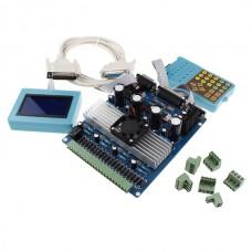 CNC Very Professional 4 Axis TB6560 3.5A Stepper Motor Driver Kit + LCD + Keypad