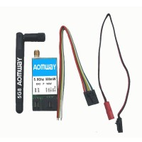 AOMWAY FPV 5.8G 500mw Transmitter TX VTX 15 CH Telemetry Compatible with Fatshark ImmersionRC