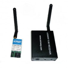 AOMWAY FPV 5.8G 500mw Transmitter Receiver TX +RX VTR & VTX 15CH Telemetry Fatshark ImmersionRC Compatible