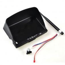 7inch LCD HD FPV Monitor Embeded 5.8G Wireless AV Receiver & LI Battery Best for FPV Photography