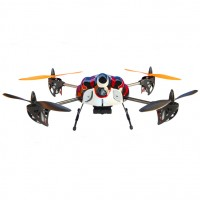 "Walkera Hoten-X Wifi Version Mini 6 CH 10"" RC Helicopter RTF Mini Quadcopter W/ DEVO7E Tramsmitter Mode 1"