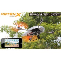 "Walkera Hoten-X Wifi Version Mini 6 CH 10"" RC Helicopter RTF Mini Quadcopter W/ DEVO7E Tramsmitter Mode 2-Black"