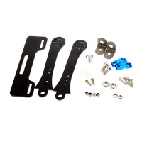 "FPV 7"" 8"" Monitor Folding Holder Mount Carbon Fiber Monitor Display for futaba JR WFLY Transmitter"