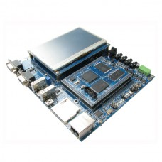 LPC4357 Development Board High Speed USB Internet with 4.3 inch LCD 204 MHz M4 M0 Dual Core Processor