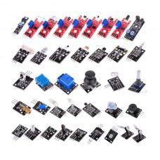 For Arduino Compatible Sensor Kit Switch Flame Temperature Module 37-in-1 Sensor Module Kit