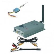 MINI100 2.4G 100mW Fixed Channel Wireless AV Tranmsitter&Receiver Telemetry Set for FPV Photography