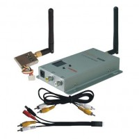 BL-602T 2.4G 200mW 8CH Wireless AV Tranmsitter&Receiver 200-300m FPV Telemetry Set