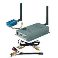 BL-601T 2.4G FPV Telemetry 100mW 4CH Wireless AV Tranmsitter&Receiver Set for FPV Photography