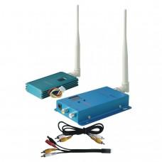 FOX-515H 1.5G 1500mW 12CH Wireless AV Tranmsitter&Receiver Audio Video Sender Telemetry Set