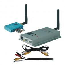 FOX-507H 1.5G 700mW 12CH Wireless AV Tranmsitter&Receiver Audio Video Sender Telemetry Set