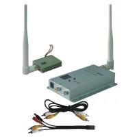 FOX-400A 1.2G FPV 400mW 8CH Wireless AV Audio/Video Tranmsitter&Receiver TX+RX Telemetry Set