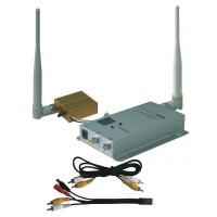 FOX-700 1.2G 700mW 8CH FPV Wireless AV Tranmsitter&Receiver Audio Video Telemetry Set