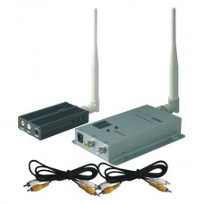 FOX-2500 1.2G 2500mW 8CH 2km to 4km Long Range Wireless AV Tranmsitter&Receiver for FPV Photography