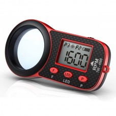 SKYRC 00-4500RPM Helicopter Optical Tachometer LCD Display